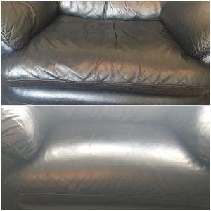 leather cushion padding